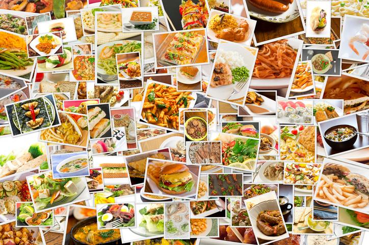 レストランのグルメ画像